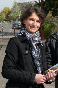Francoise GROLET sur le terrain