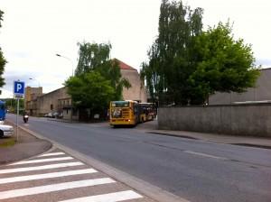 Derniers bus au dépôt TCRM, avenue de Blida