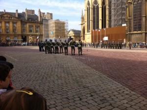 Commémoration du 8 mai 1945, place d'Armes à Metz