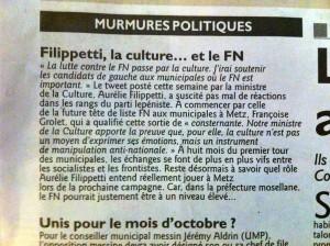 Filipetti culture FN