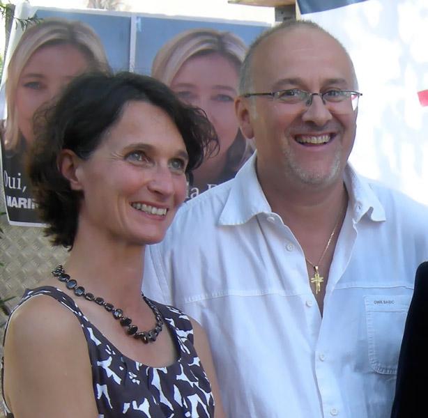 Françoise Grolet et Thierry Gourlot