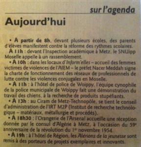 Le Républicain Lorrain 13/11/13