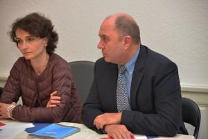 Interview de Françoise Grolet par le Républicain Lorrain, La semaine, France Bleu, Mirabelle TV