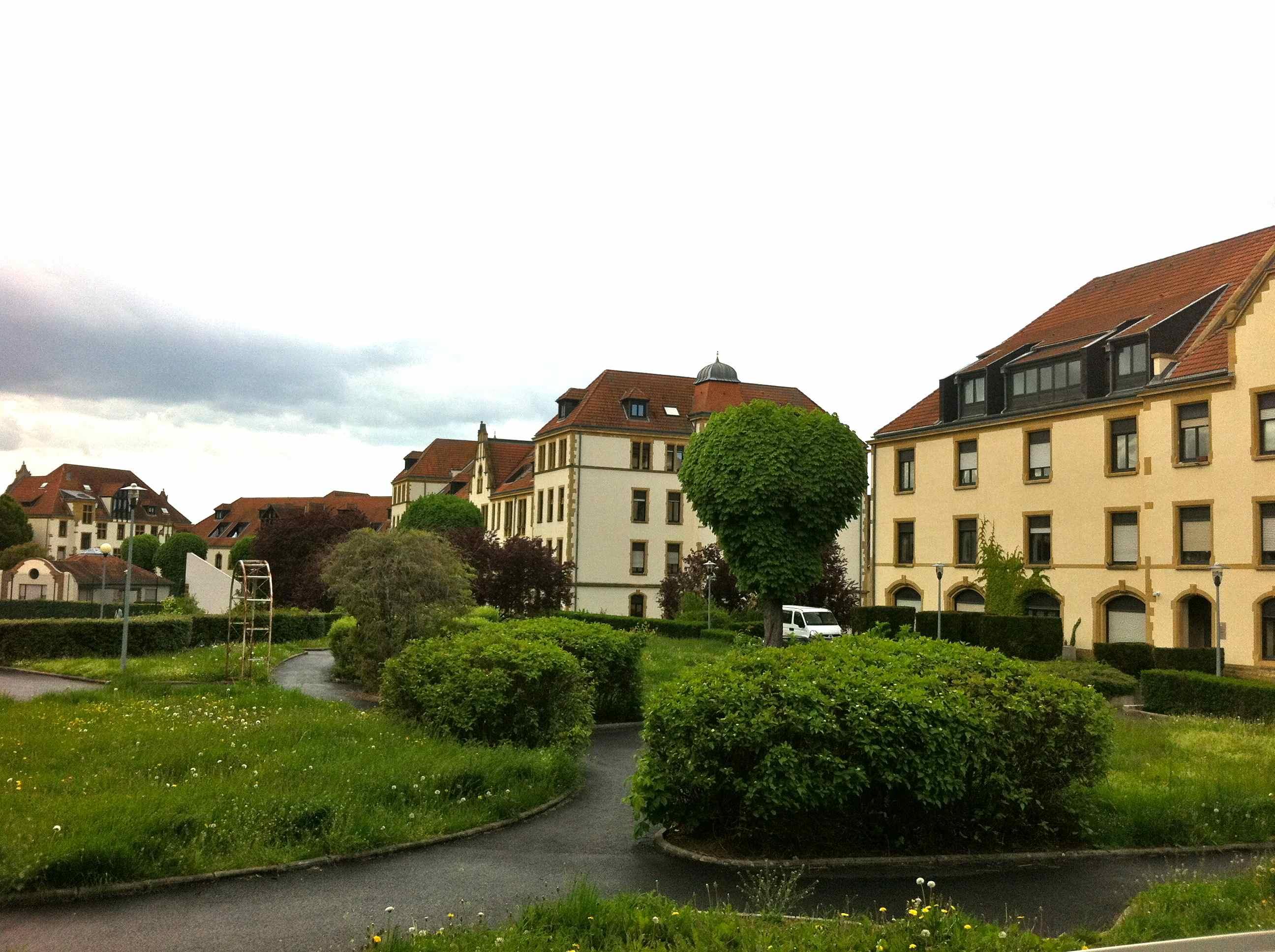 Fran Oise Grolet Reconversion Des Friches Militaires De Metz