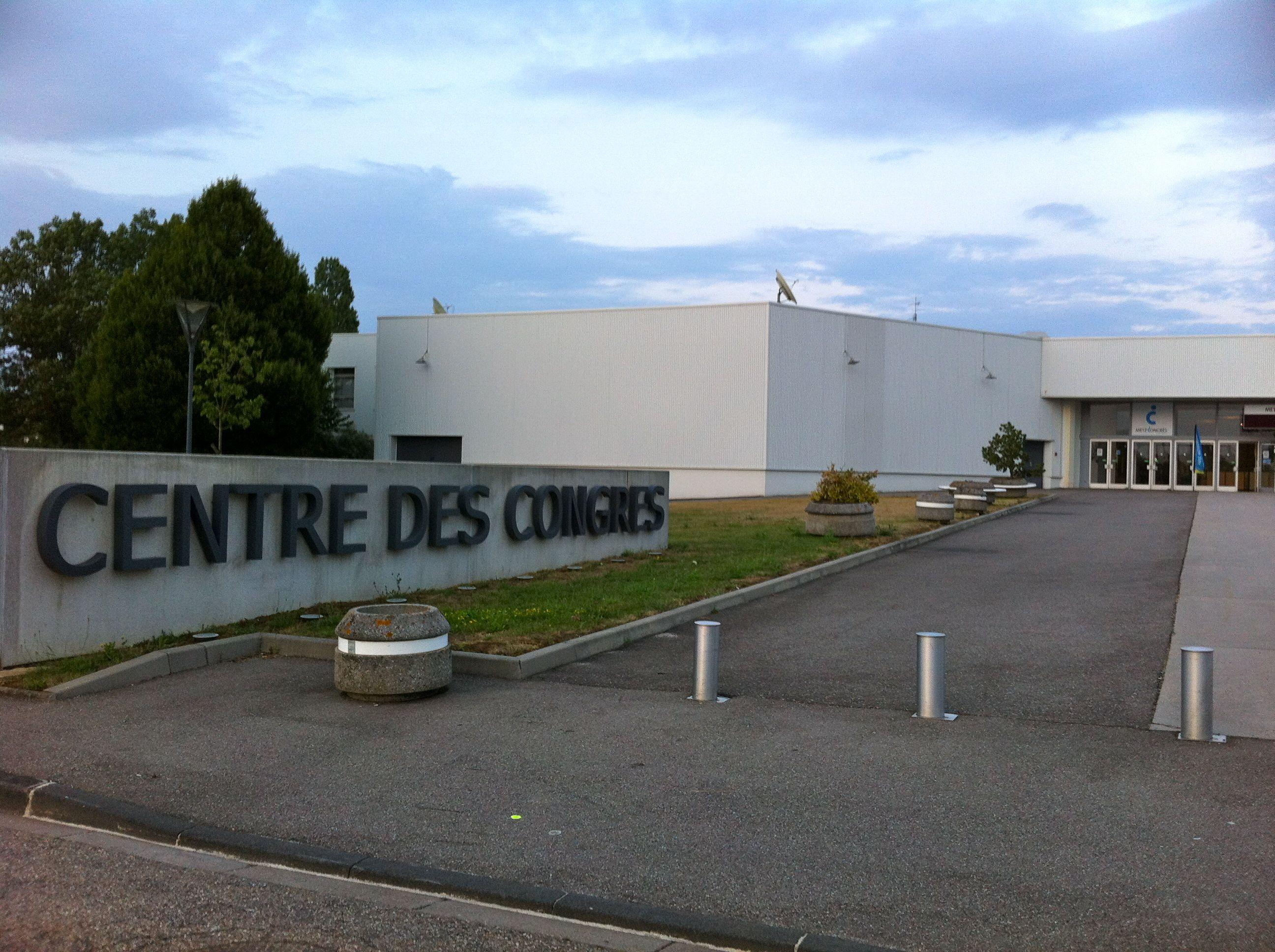 Fran oise grolet propos du palais des congr s de metz for Parc des expositions de metz