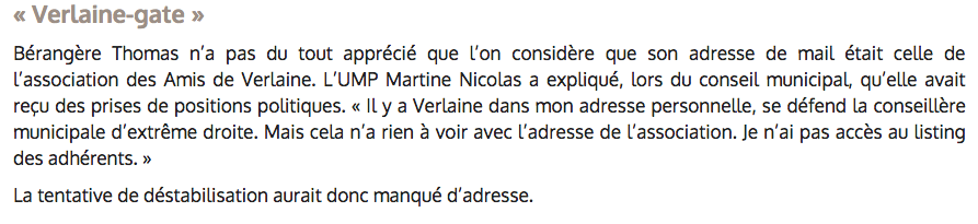 Extrait du Républicain Lorrain 01/03/2015