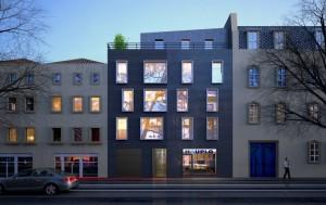 Bâtiment moderne rue Haute-Seille