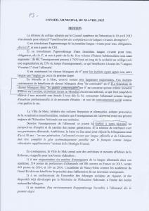 """Motion du PS - """"Monsieur le Maire, c'est une motion pour rien puisque selon vous, tout va bien !"""" lui a répondu Françoise Grolet"""