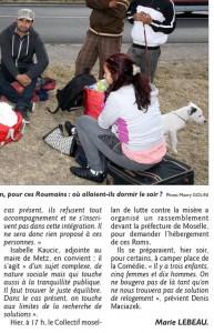 """EL du 29/07/2015. Isabelle Kaucic : """"on touche aux limites de la recherche de solutions"""""""