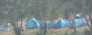 Roms au camping municipal de Metz, août 2015