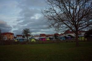 Jardins familiaux Parc du Sansonnet