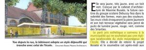 """Pour Dominique Gros, le bâtiment actuel aurait un style """"tarabiscoté"""""""