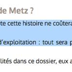 « <em><strong>Piscines de Metz : la fin de la galère</strong></em> » titrait le Républicain Lorrain du 23 mars 2016.