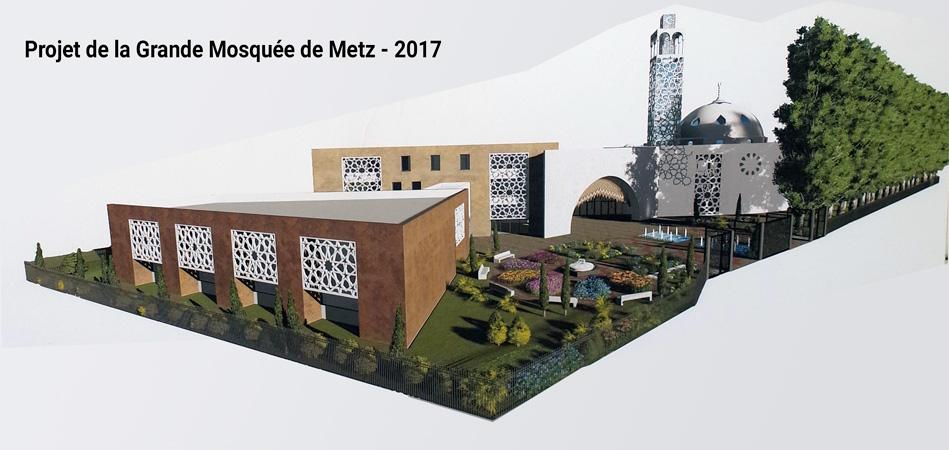 Metz Tour De Passe Passe Pour Favoriser La Future Grande Mosquee