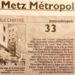 Siège de Metz Métropole : 3 voix contre ?