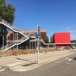 Inauguration de l'Agora - une condition essentielle : la sécurité du quartier
