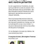 """""""Vous protéger est notre priorité"""" : retrouvez notre tribune dans Metz Mag 09/18"""