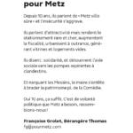 C'est d'une volonté politique que Metz a besoin (Tribune Metz Mag)