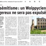 Un islamiste étranger auteur d'actes antisémites remis en liberté à Metz : intolérable !