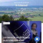 Françoise Grolet interviewée ce mercredi 20 novembre 2019 sur France Bleu.