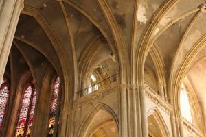 St Vincent, la basilique abandonnée.