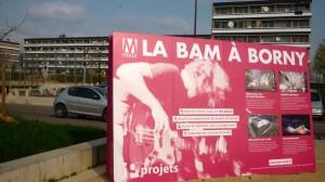 Chantier de la Boîte à Musique (BAM) à Metz Borny