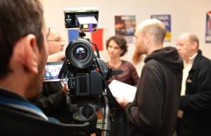 Interview de Françoise Grolet et Thierry Gourlot par le Républicain Lorrain, La semaine, France Bleu, Mirabelle TV