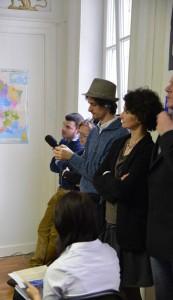 Conférence de presse, Françoise Grolet 1er février 2014