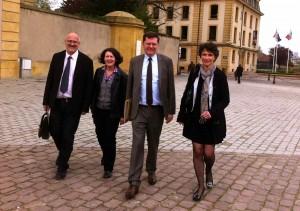 Les 4 élus du Rassemblement Bleu Marine Pour Metz vont au premier Conseil municipal