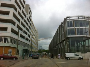 Autour de Centre Pompidou : la désolation