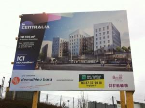 projet d'immeuble à destination de bureaux : le futur siège de Metz-Métropole ?