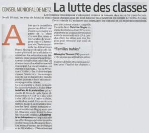 La lutte des classe. Le FN dénonce la fermeture de deux écoles messines