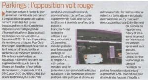 L'augmentation des tarifs des parkings à Metz