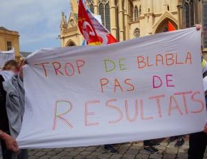 Manifestation des agents de la ville de Metz, le 16 juin 2015