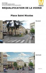 Requalification de la Place Saint Nicolas à Metz