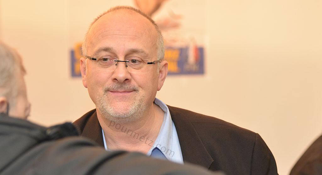 Thierry Gourlot, 56 ans, conseiller municipal FN et conseiller régional.