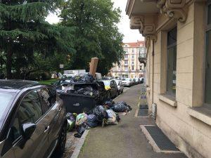 Une autre violence pour le quartier Nouvelle-Ville (hier rue Antoine) : la conteneurisation, progrès et salubrité pour Metz selon Dominique Gros