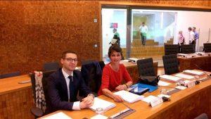 Françoise Grolet et Jordan Grosse-Cruciani siègent au Conseil Parlementaire Interrégional (CPI) de la Grande Région 17/06/16