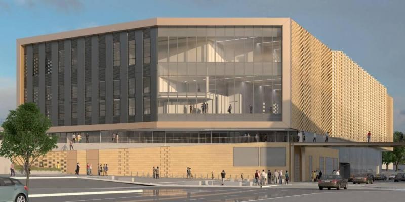 Palais des Congrès : le projet du cabinet Wilmotte & associés architectes.